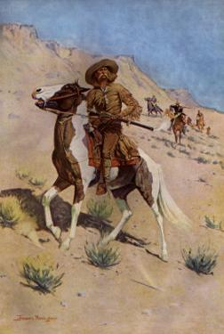 The Scout by Frederic Sackrider Remington