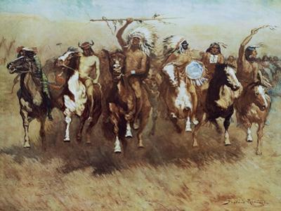 Victory Dance by Frederic Sackrider Remington