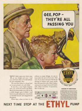 Ethyl Motor Fuel, Helps to Make Your Old Car Last Longer by Frederic Stanley