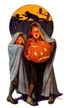 """Halloween Scare,""November 2, 1935 by Frederic Stanley"