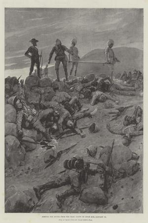 Sorting the Living from the Dead, Dawn on Spion Kop, 25 January