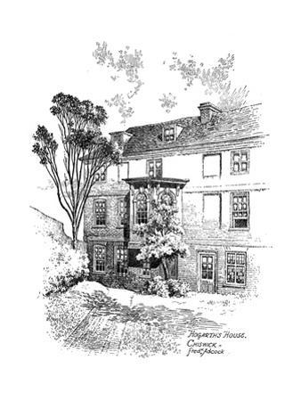 Hogarth's House, Chiswick, 1912 by Frederick Adcock