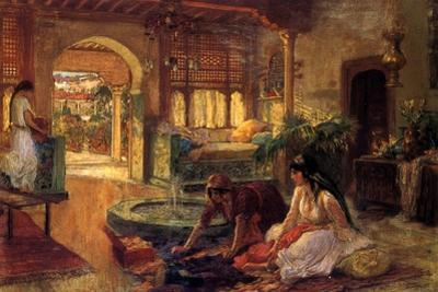 An Oriental Interior, 1900 by Frederick Arthur Bridgman