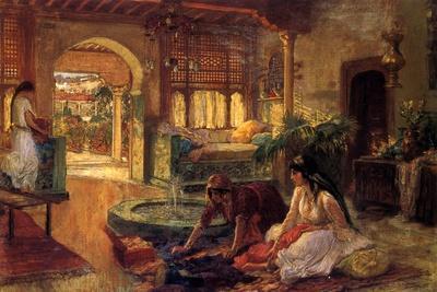 An Oriental Interior, 1900