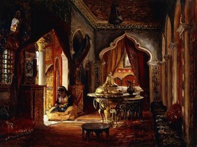 Within the Seraglio, 1879 by Frederick Arthur Bridgman