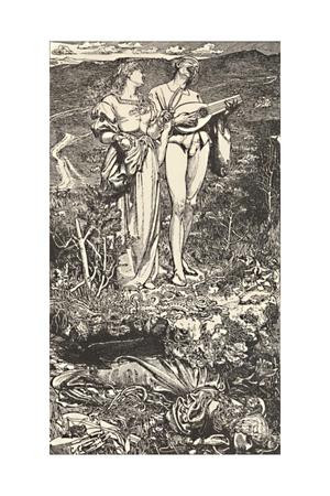 Amor Mundi. From Christine Rossetti's Poem., c1850-1900, (1923)