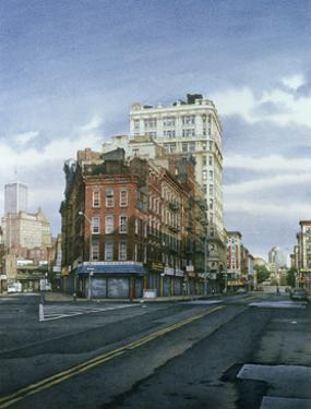 A Morning View from the Lower East Side, 2000 by Frederick Brosen