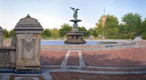 Bethesda Fountain, 1992 by Frederick Brosen