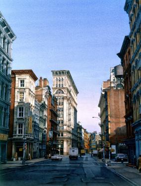 Broome Street, 1998 by Frederick Brosen