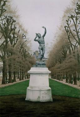 Pan, Luxembourg Gardens, 1994 by Frederick Brosen