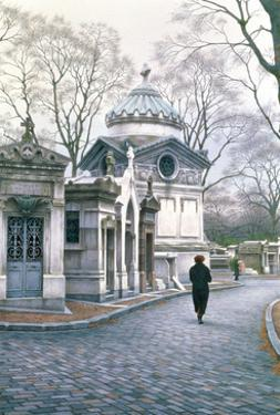 Pere Lachaise, 1996 by Frederick Brosen