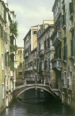 Venice Canal II, 1995 by Frederick Brosen
