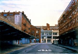 Washington and 14th Street, 1999 by Frederick Brosen