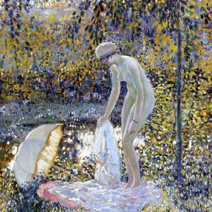 Bather, C.1907-14 by Frederick Carl Frieseke