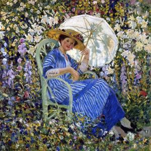 In the Garden, C.1910-11 by Frederick Carl Frieseke