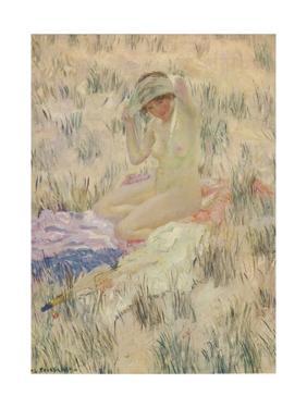 'Sur les Dunes', 1913, (c1932) by Frederick Carl Frieseke