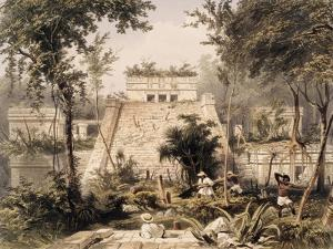 Castle at Tulumc by Frederick Catherwood