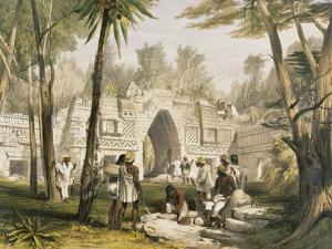 Gateway at Labnah by Frederick Catherwood