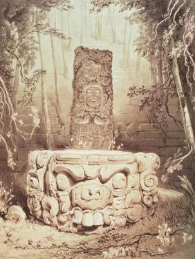 Mayan Temple, Honduras by Frederick Catherwood