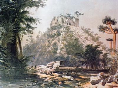 View of El Castillo, 1844
