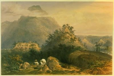 Views of Ancient Monuments in Palenque, Illustration from 'Incidents of Travel in Central…