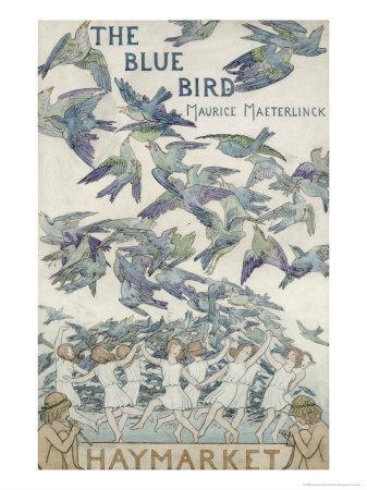Design For Playbill For The Bluebird, 1909