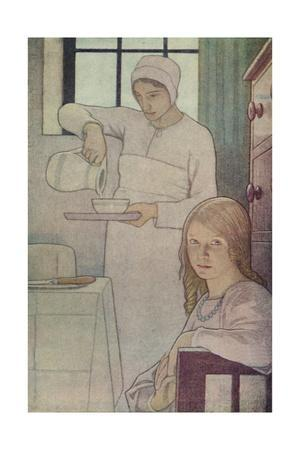 'Lois and Her Nurse. From 'A Book of Quaker Saints.' (L. V. Hodgkin.)', 1923