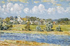 Landscape at Newfields, New Hampshire, 1909 by Frederick Childe Hassam