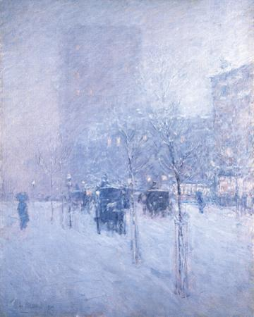 Late Afternoon, New York: Winter