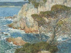 Point Lobos, Carmel, 1904 by Frederick Childe Hassam