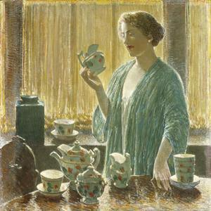 Strawberry Tea Set, 1912 by Frederick Childe Hassam