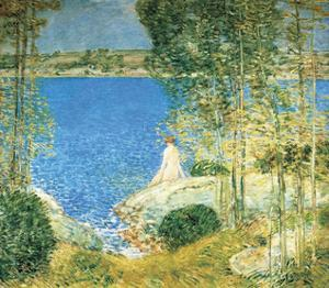 The Bather, 1904 by Frederick Childe Hassam