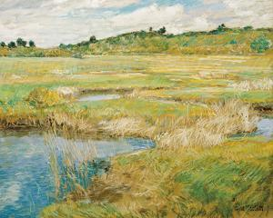 The Concord Meadow, c.1890 by Frederick Childe Hassam