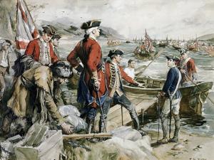 Abercrombie's Expedition to Ticonderoga by Frederick Coffay Yohn