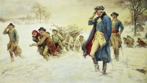 George Washington at Valley Forge by Frederick Coffay Yohn