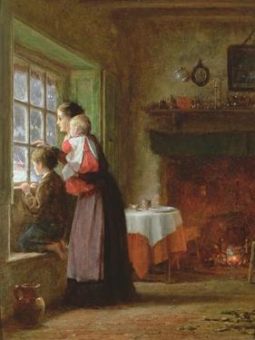 An Anxious Time, 1876 by Frederick Daniel Hardy