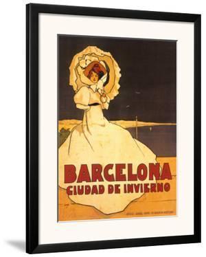 Barcelona by Frederick Daniel Hardy