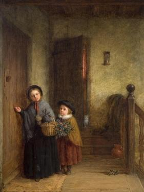 Christmas Visitors, 1869 by Frederick Daniel Hardy