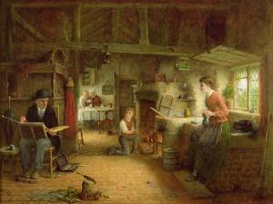 The Artist's Visit by Frederick Daniel Hardy