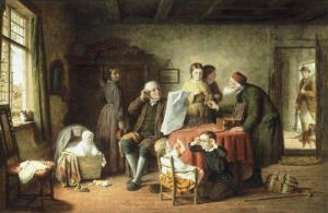 Try Dese Pair, 1864 by Frederick Daniel Hardy