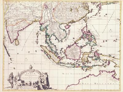 Map of India and the East Indies