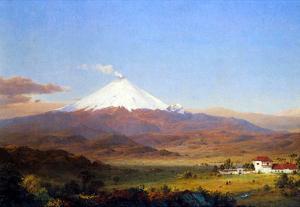Frederick Edwin Church Cotopaxi Ecuador 2 Art Print Poster