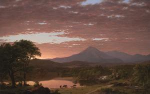 Mt. Ktaadn, 1853 by Frederick Edwin Church