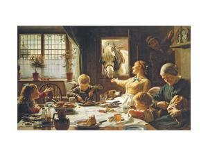 One of the Family by Frederick George Cotman