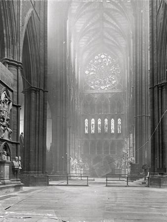 Interior of the North Transept, Westminster Abbey, London