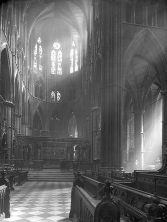 Interior of Westminster Abbey, Looking Towards the High Altar