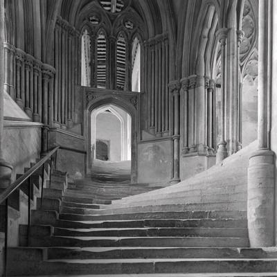 Interior Stairway of the Chapter House, Wells Cathedral