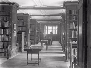 The Perne Library by Frederick Henry Evans