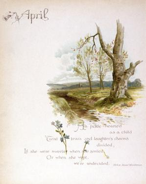 Book Illustration - March by Frederick Hines