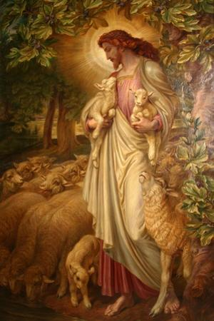 The Good Shepherd by Frederick James Shields